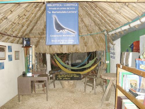 primera sede Biblioteca Mariamulata lectora