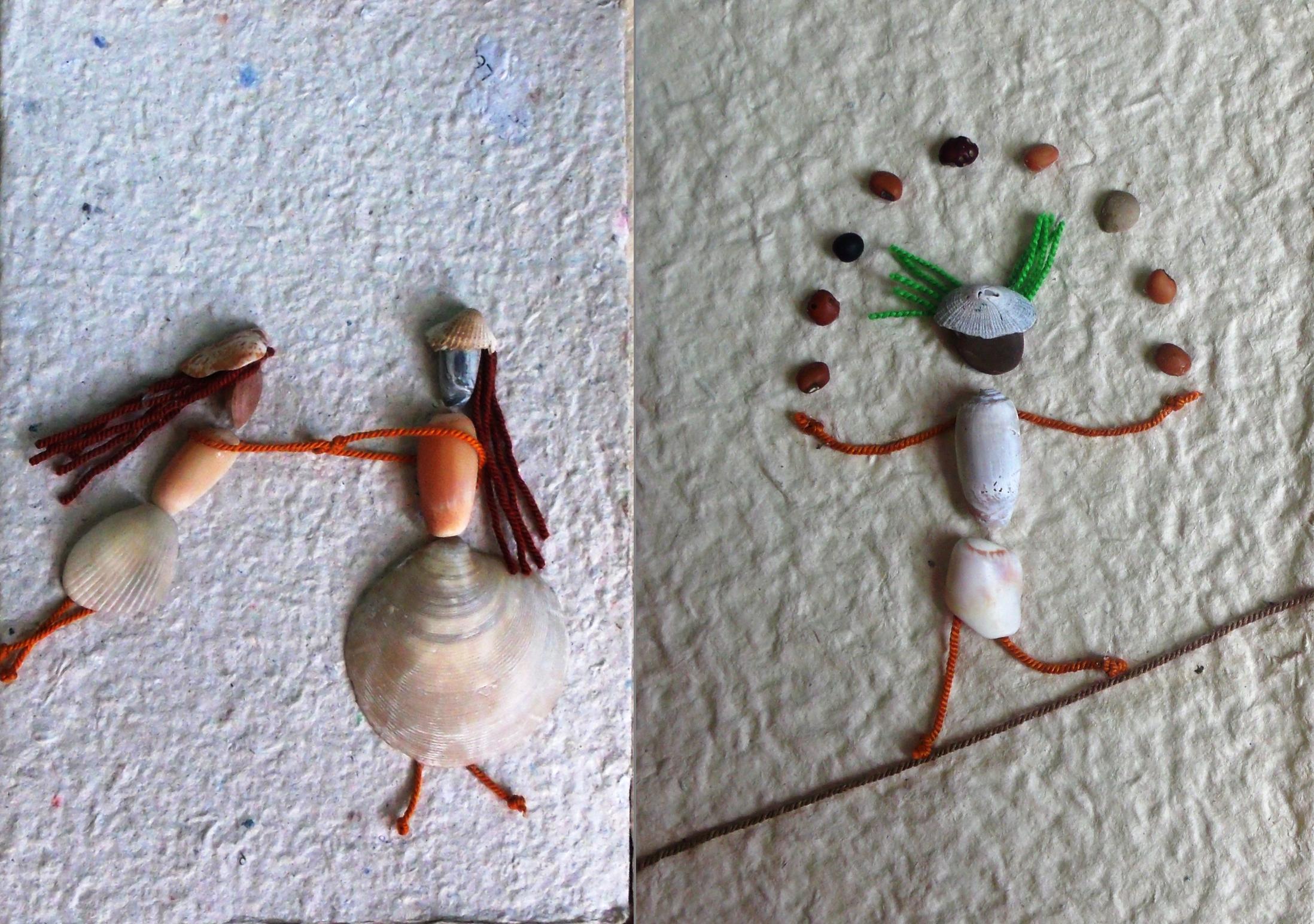 Figuras con papel reciclado tienda taller biblioteca - Manualidades de papel reciclado ...