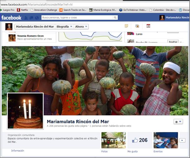 Mariamulata en Facebook
